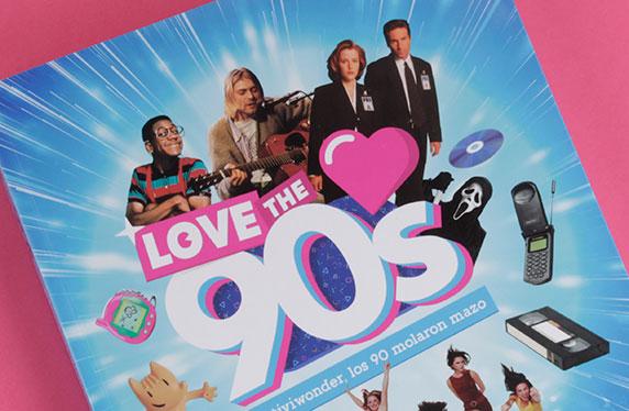 """Libro """"Love the 90s"""""""