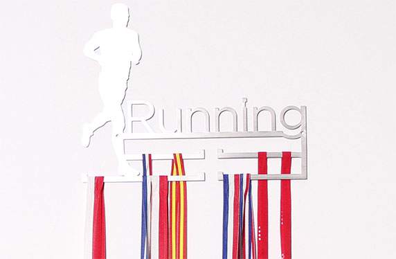 Originales medalleros para runners