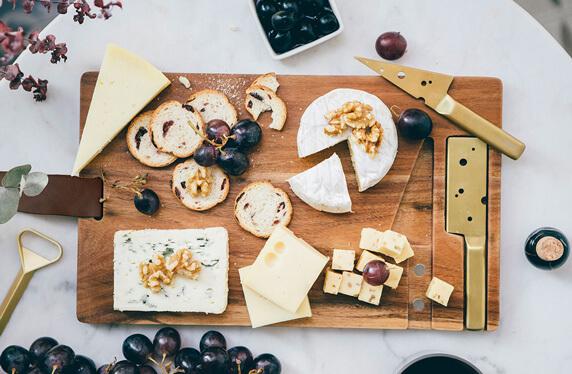 La tabla de quesos más elegante