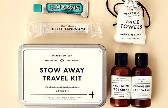 Kit de aseo de viaje para hombres