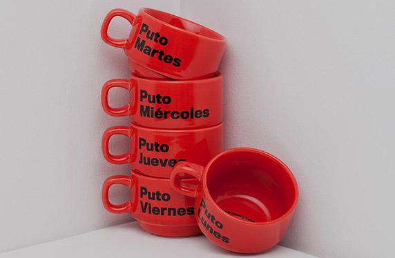 Set de tazas descaradas y con humor