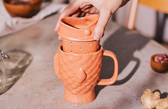 La taza e infusor más ZEN