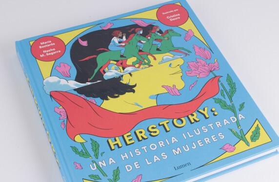 """Libro """"Herstory: una historia ilustrada de las mujeres"""""""