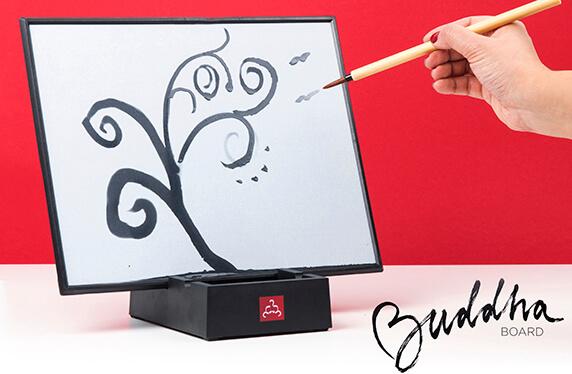 Pizarra japonesa para pintar con agua