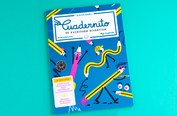 Cuadernitos de escritura divertida