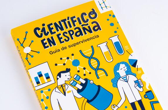"""Libro """"Científico en España"""""""