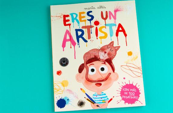 """Libro de actividades """"Eres un artista"""""""