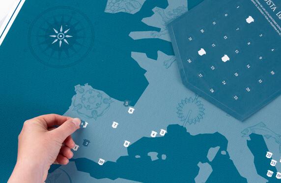 Mapa personalizado de Juego de Tronos