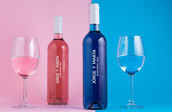 La pareja perfecta de vinos personalizados