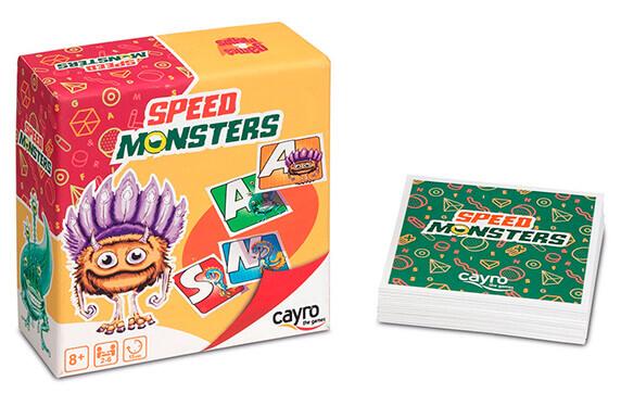 """""""Speed Monster"""" el juego de cartas más monstruoso"""