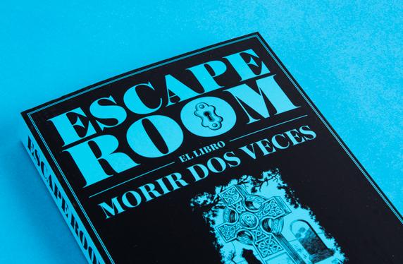 """Escape Room, el libro """"Morir dos veces"""""""