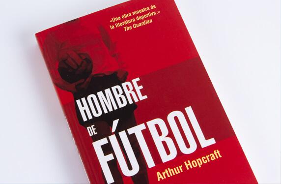"""Libro """"Hombre de fútbol"""""""