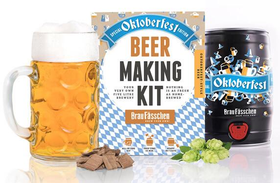 Kits de elaboración de cerveza en barril