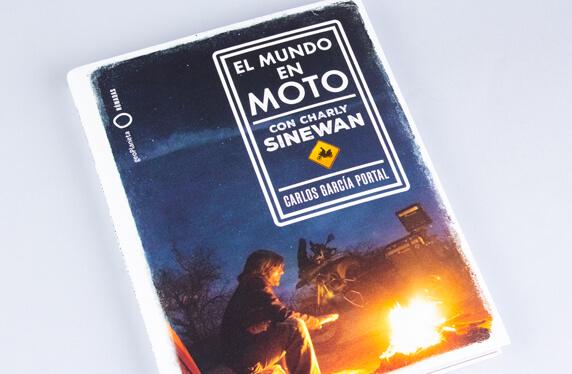 """Libro """"El mundo en moto"""" con Charly Sinewan"""