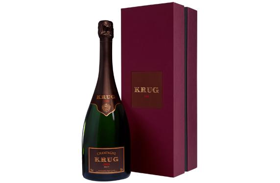 Champagne Krug 2004 en estuche de regalo