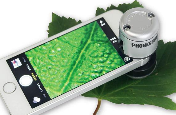 Phonescope, el microscopio para smartphones