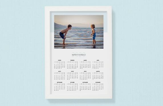 Calendario personalizado 2020