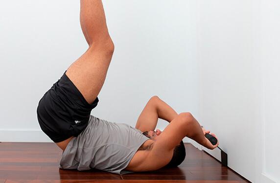 Barra de abdominales, para estar en forma facilmente