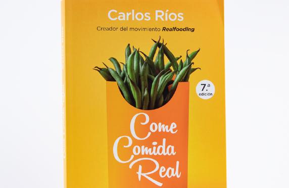 """Come comida Real"" Un libro al natural"