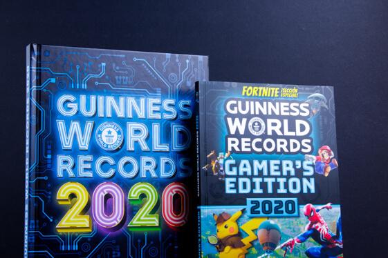 El libro Guinness World Records y Gamer´s Edition 2020