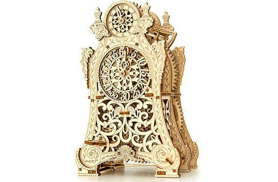 Reloj mágico de madera para construir