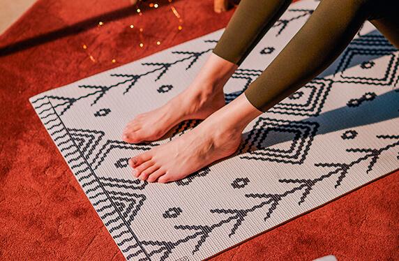 La esterilla más elegante para practicar yoga
