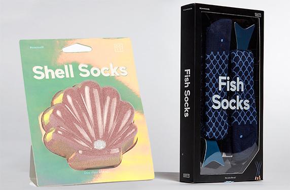Los calcetines más originales del mar