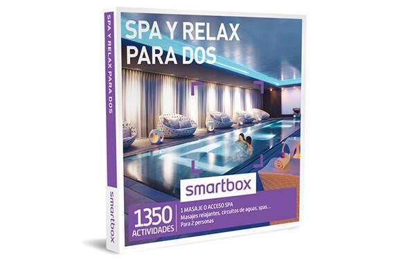"""Experiencia """"Spa y masaje para dos"""" de Smartbox"""