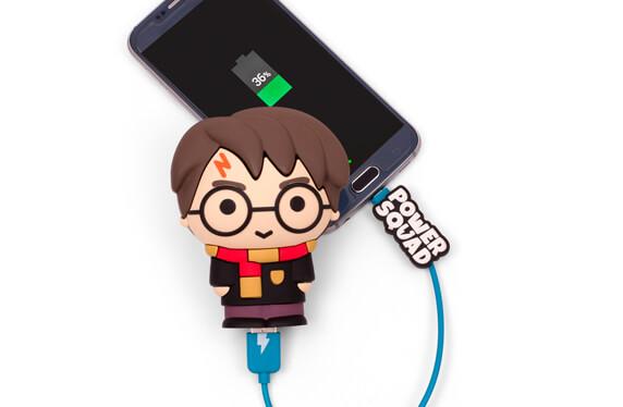 Baterías portátiles de Harry Potter, con poderes mágicos