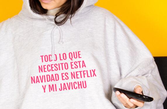 La sudadera gigante para tus maratones Netflix