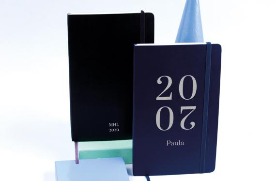 Agenda Moleskine 2020 personalizada