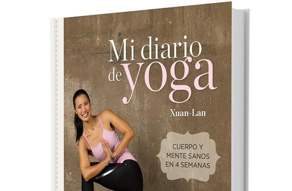 """Libro """"Mi diario de yoga"""" de Xuan-Lan"""