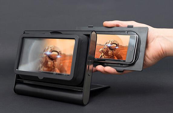 Amplificador de smartphone de viaje