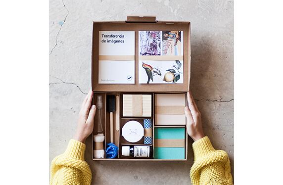 Kit DIY de transferencia de imágenes