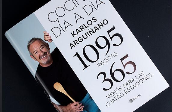 """Libro """"Cocina día a día"""" con Karlos Arguiñano"""