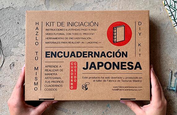 Kit de encuadernación al estilo japonés