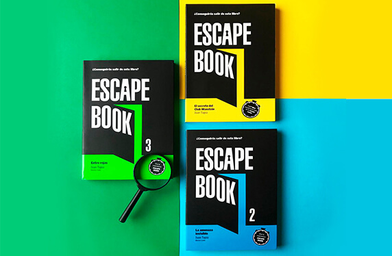 "Escape book. ""El secreto del Club Wanstein"""