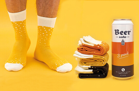 Set de calcetines para los más cerveceros
