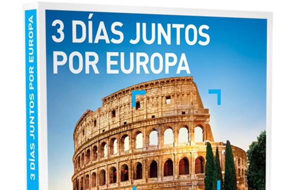 """Escapada """"Tres días por Europa"""" de Smartbox"""