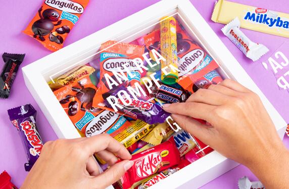Kit personalizado Emergencia de Chocolate