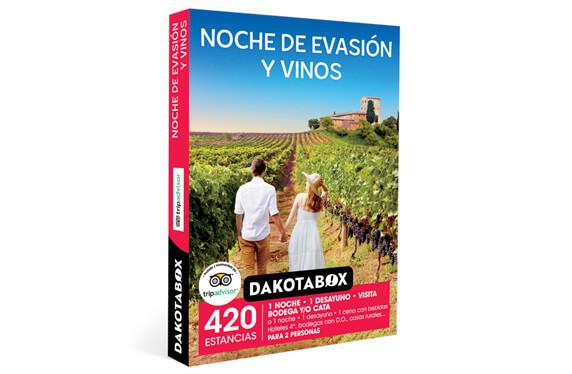 """""""Noche de evasión y vinos"""": una experiencia Dakotabox"""
