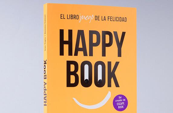 """""""Happy Book"""", el librojuego de la felicidad"""