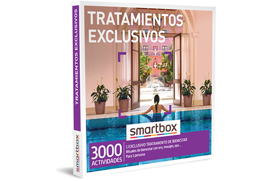 """Tratamientos exclusivos"" - Smartbox"