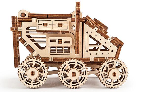 Mars Buggy: El vehículo marciano para construir