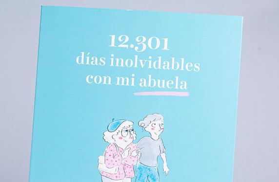 """Libro """"12.301 días inolvidables con mi abuela"""""""