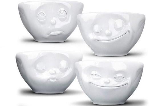 Los bowls con caras, ¿cómo te sientes hoy?