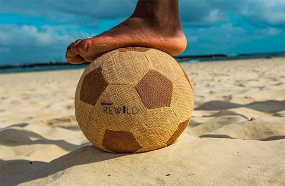 Balones 100% ecológicos Rewild