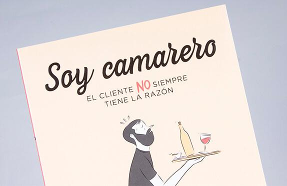 """Libro """"Soy Camarero: El cliente no siempre tiene la razón"""""""