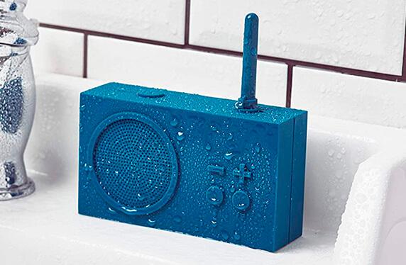 Radio con altavoz bluetooth resistente al agua