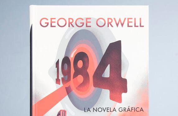 1984 de G. Orwell en versión novela gráfica